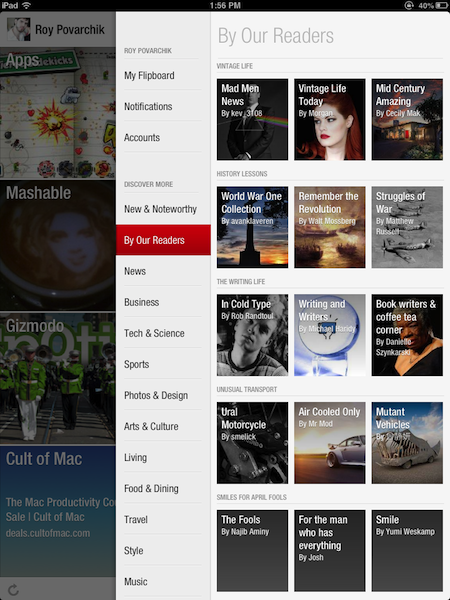 Check out the new 'By our readers' section
