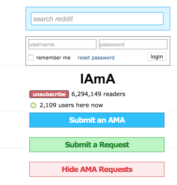 The AMA hack