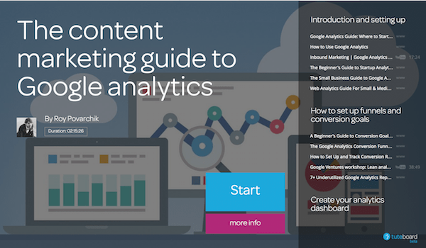 The complete comprehensive A-Z guide to using Google analytics for content marketers