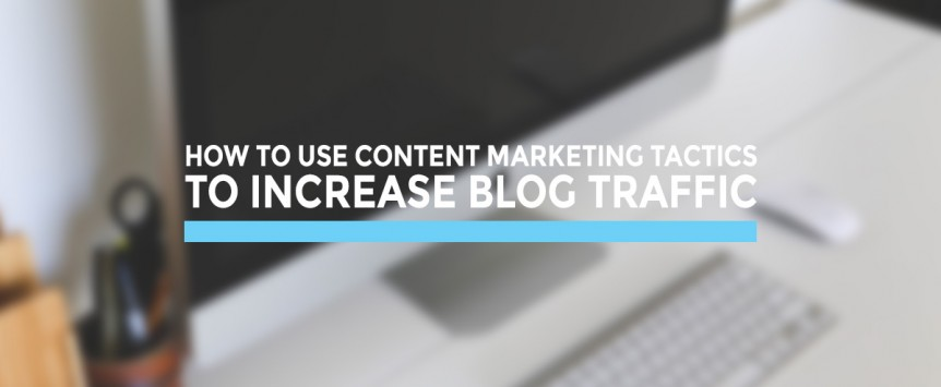 How to use content marketing for blog traffic