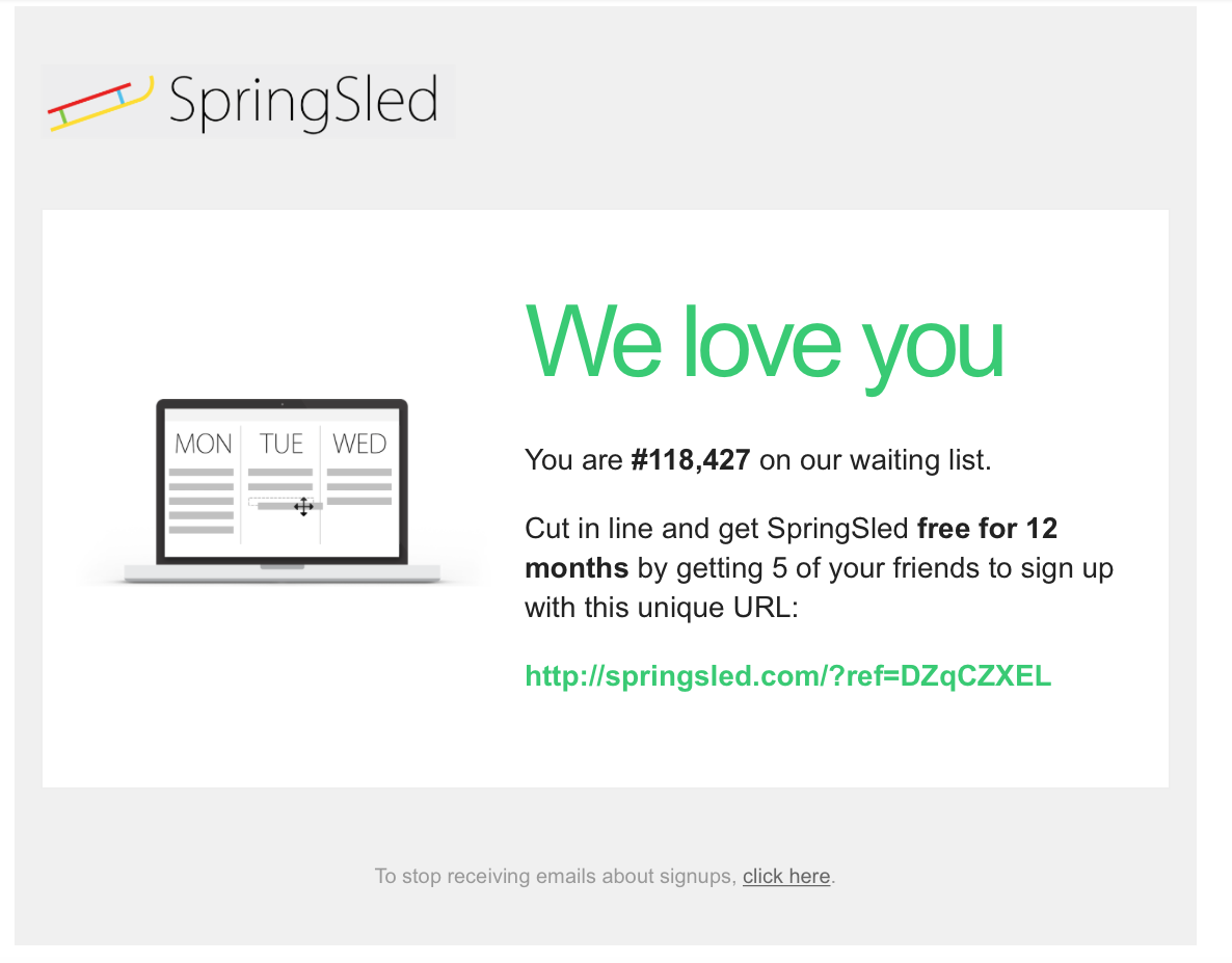The 3 hacks that got SpringSled 138,790 users in less than a month